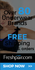Women's bras, panties and more at Freshpair