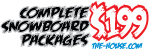Complete Snowboard Packages