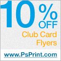 Save 15% off Flyers at PsPrint!