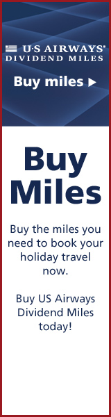 Buy US Airways Dividend Miles Today!