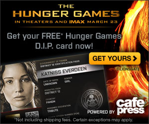 Become part of the Hunger Games and get your free