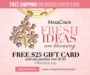 Free $25 Gift Card with purchases over $150