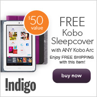 Free Kobo SleepCover with Any Kobo Arc!