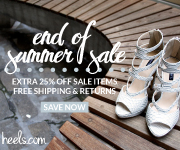 Heels.com End of Summer Sale