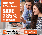 Savings up to 85% at AcademicSuperstore.com