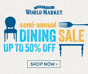 Semi-Annual Dining Sale. Up to 50% off at World Market. Shop Now.