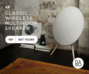 Beoplay A9 wireless standing speaker