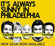 Shop for It's Always Sunny in Philadelphia Merch
