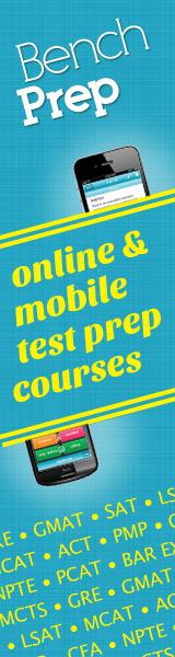 160x600 BenchPrep - Online Test Prep
