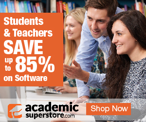 Students & Teachers SAVE upto 85 percent on Software