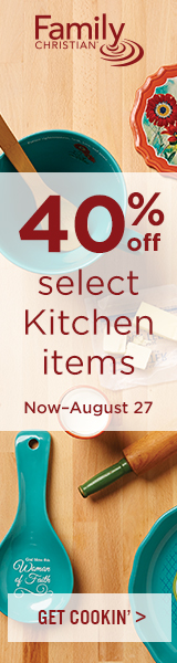 40% off select Kitchen Items