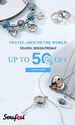 Travel around the world - with a Design Pre-Sale!  Save up to 50% off at Soufeel.com.  Ends 09/15
