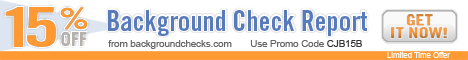 15% Off Background Check Report
