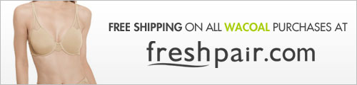 Free shipping on all Wacoal purchases