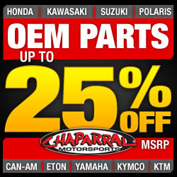 Chaparral Motorsports OEM Parts Up To 25% off