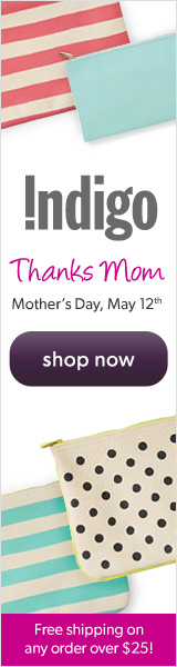 Mother's Day at Chapters Indigo!