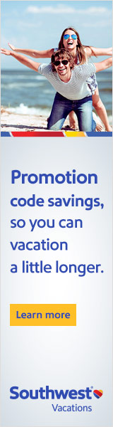 Want to save even more? Click here to see if Southwest Vacations has an exclusive promotion code for your upcoming vacation.