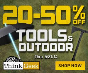 Outdoor/Tools Sale 20% - 50% Off