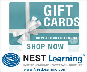 Gift Cards available at NestLearning.com