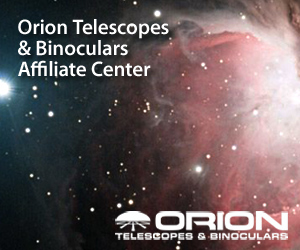 Orion Telescopes and Binoculars Affiliate Center