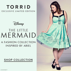 Torid,#plussizefashions, Shop our Exclusive Little Mermaid Collection at Torrid.com!