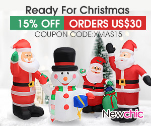 15% Off Orders Over $30 Christmas Home Decor