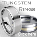 Men's Tungsten Carbide Wedding Rings