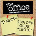 The Office T-shirts coupon and free shipping