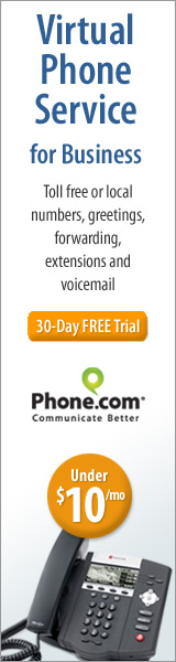 160x600 Virtual Phone Service for Business