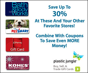 Save up to 30% at your favorite stores.