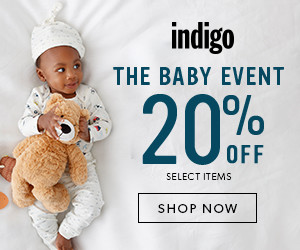 The Baby Event - save 20% on select items for baby!