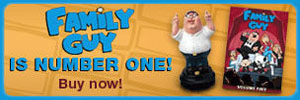 Shop for Family Guy fan gear & DVDs