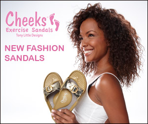Tony Little's Cheeks� Fashion Exercise Sandals