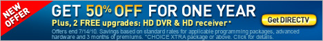 Get FREE HD for 3 months. Get DIRECTV.