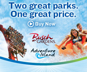 Busch Gardens and Adventure Island