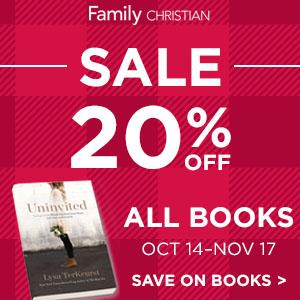 20% Off All Books Sale!