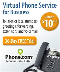 Get Virtual Phone Service for Home Office!
