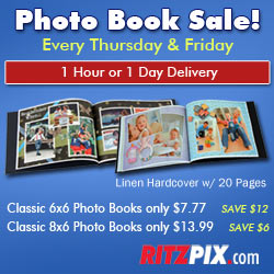 Photo Books as low as $7.77