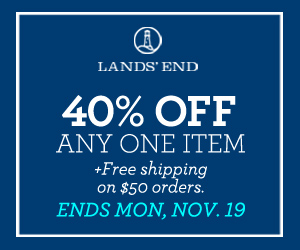 Lands' End 40% off One