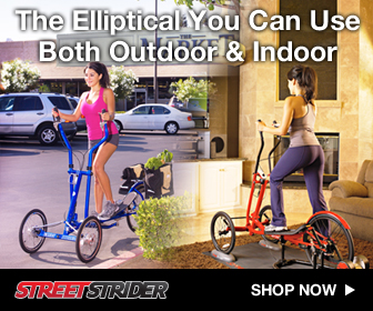 The Elliptical you can use both indoor and outdoor