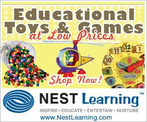 Toys & Educational Games for NestLearning.com