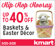 ALL Easter Baskets on Sale & Up to 40% off Easter Decor!