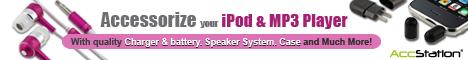 MP3 iPod Accessories - Nano, Shuffle, SE, 3G and 4