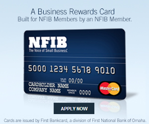 NFIB Business Edition® Mastercard® card with Maximum Rewards®