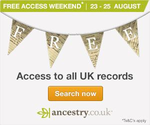 Free Access to Ancestry until 25th