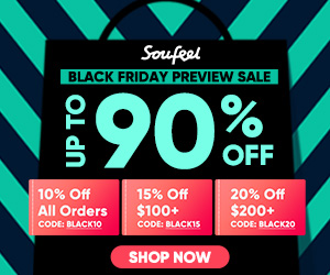 2018 SOUFEEL Black Friday Blowout Sale! Save Big with Code BLACK20  Offer Ends 11/26