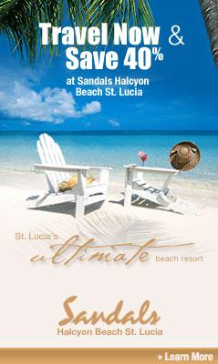 The Ultimate Beach Vacation in St. Lucia