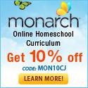10% Off Monarch Online Homeschool Curriculum with code: MON10CJ