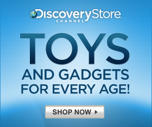 DVDs, Toys and Fan Gear at the Discovery Store!