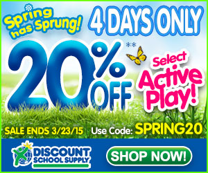 Save 20% Off Select Active Play & Get Free Shipping On Stock Orders Over $79!
